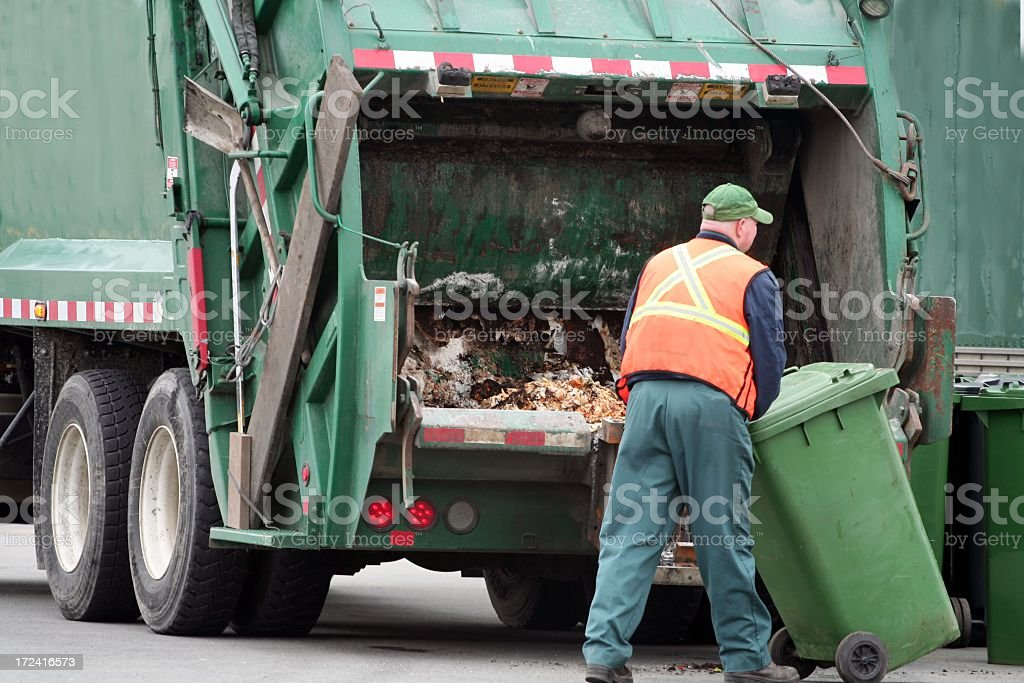 Waste Management - 4 stock photo