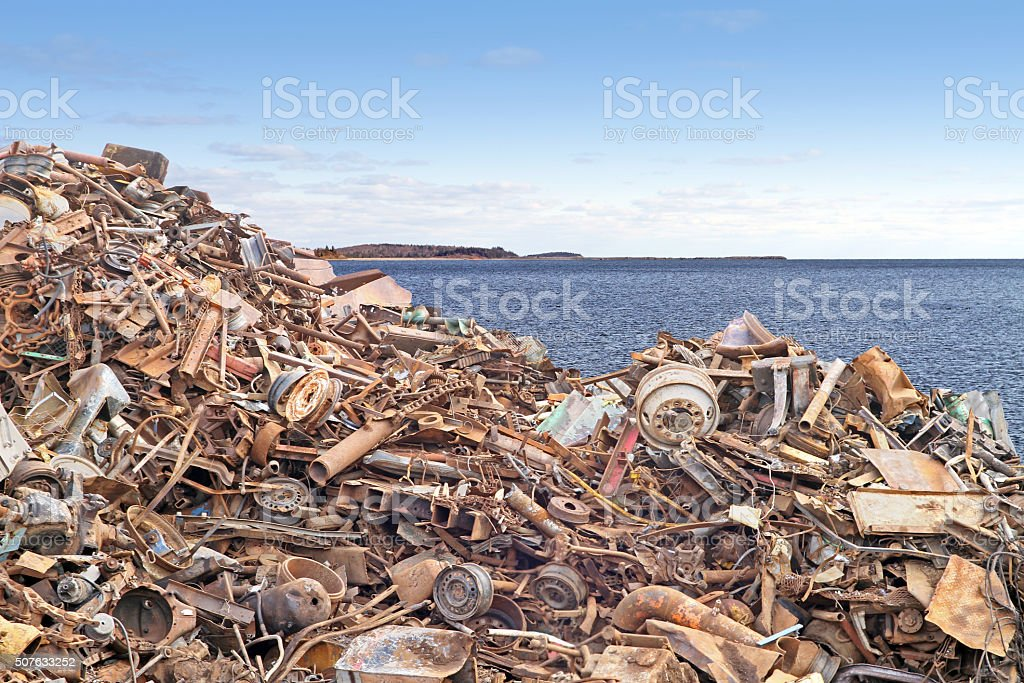 Waste Management And The Environment stock photo