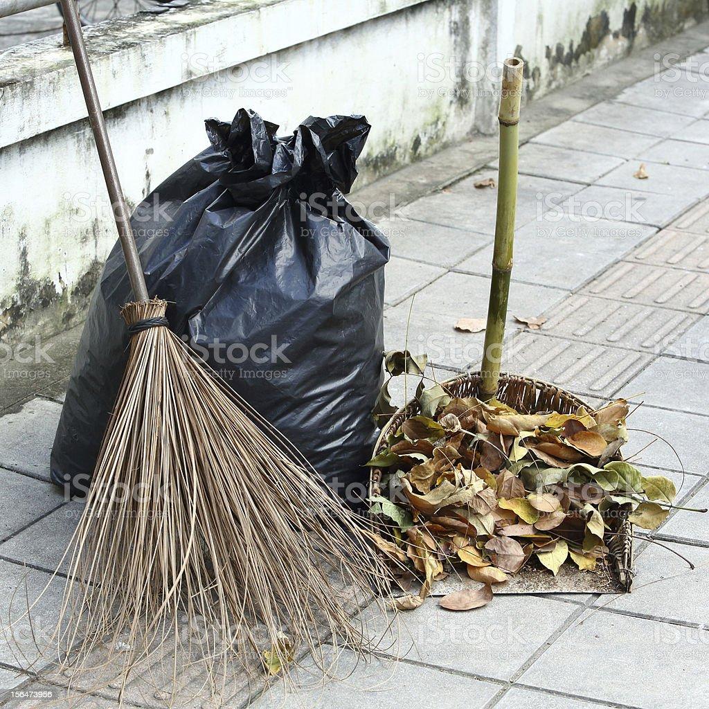 Waste management royalty-free stock photo