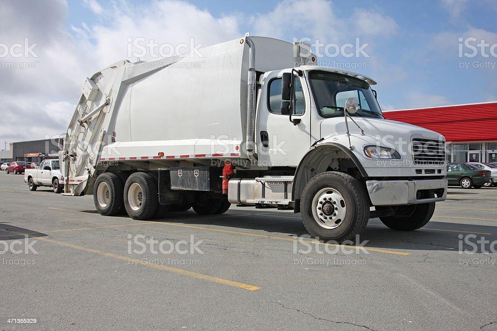 Waste Management Vehicle, aka: Garbage Truck royalty-free stock photo