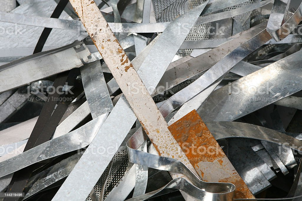 Waste Metal royalty-free stock photo