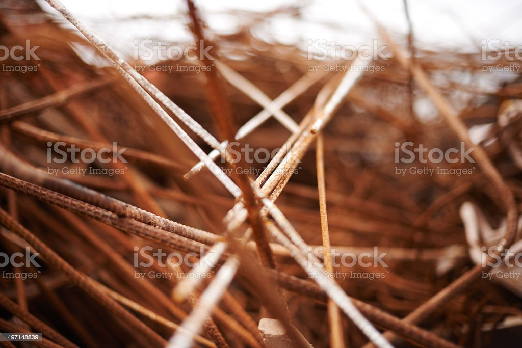 Waste of industry stock photo