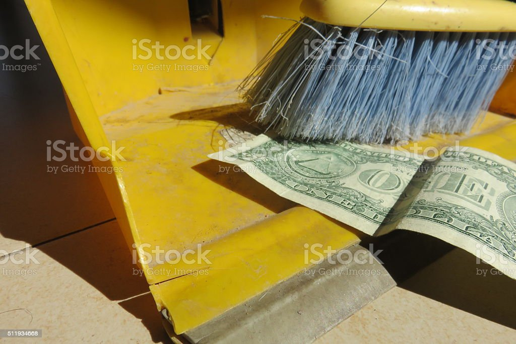 waste of money Concept stock photo