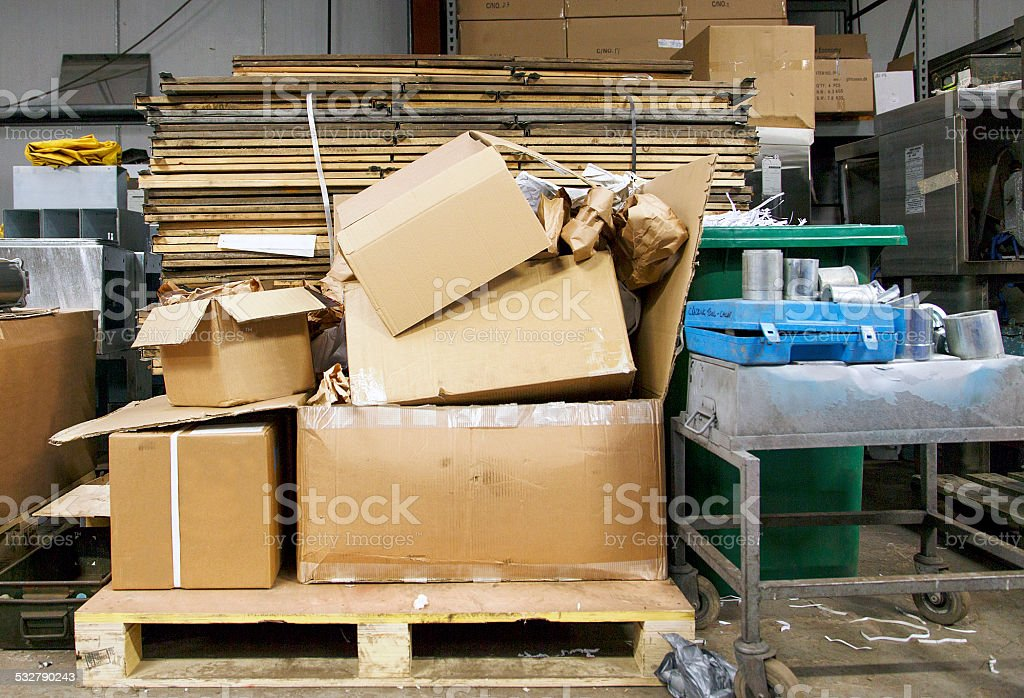Waste Products stock photo