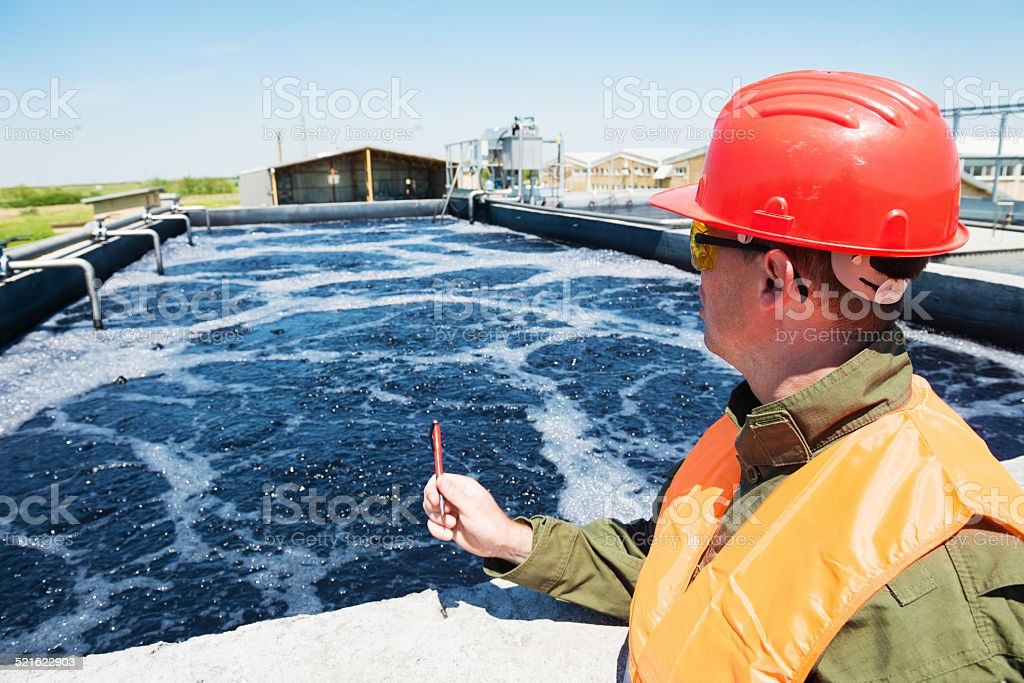 Waste water stock photo