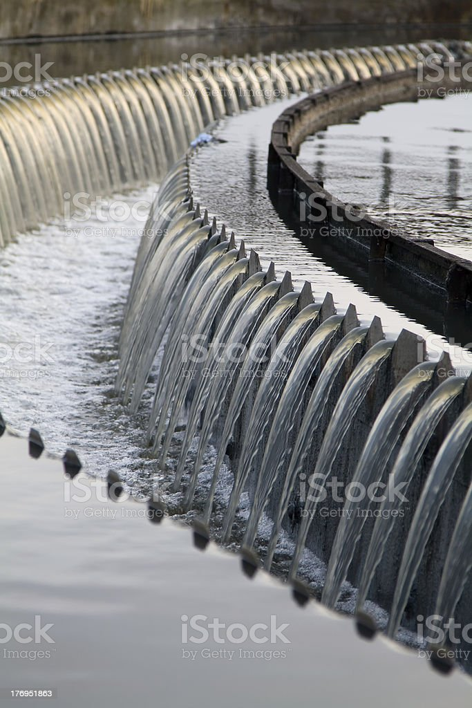 Waste Water system stock photo