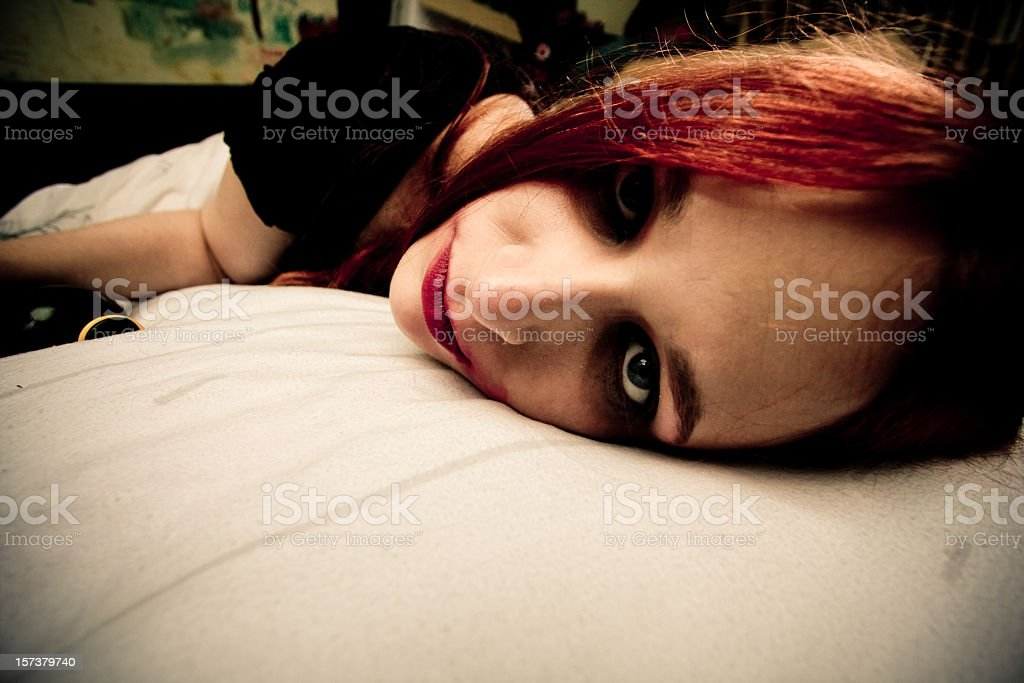 wasted beauty royalty-free stock photo