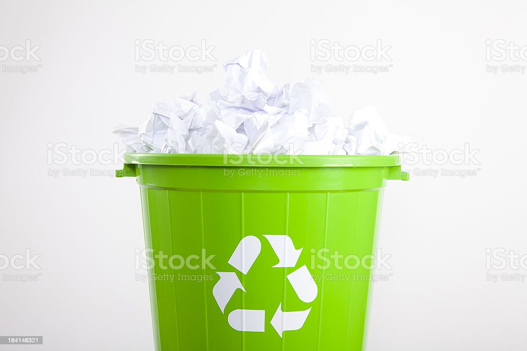 Wastepaper royalty-free stock photo