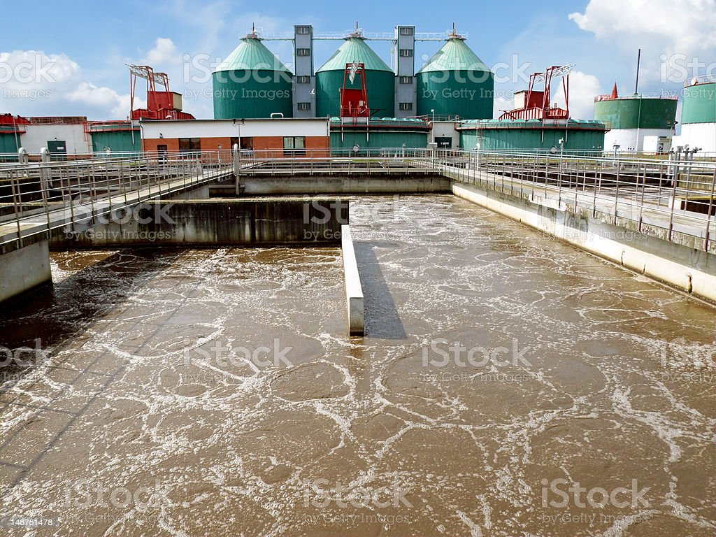 wastewater royalty-free stock photo
