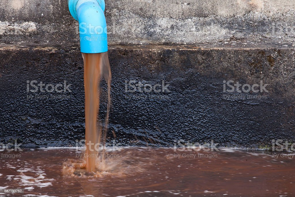 wastewater stock photo