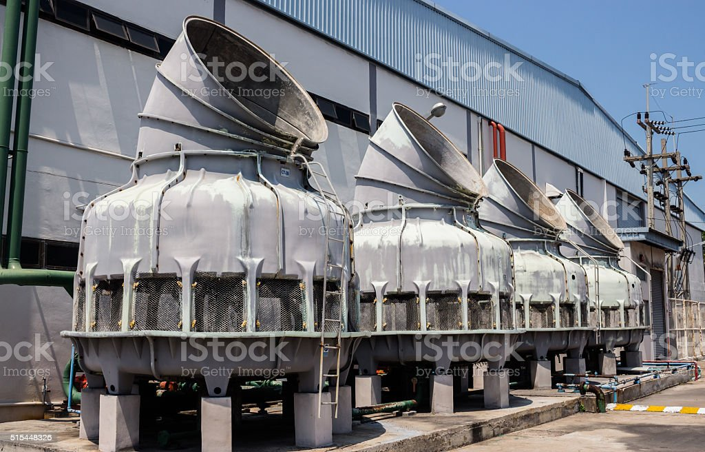 Wastewater Treatment Equipment stock photo