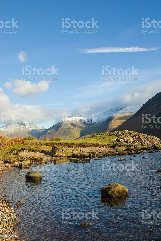 Wastwater stock photo