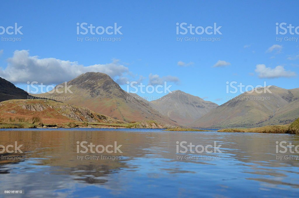 Wastwater, Wasdale, Cumbria, stock photo