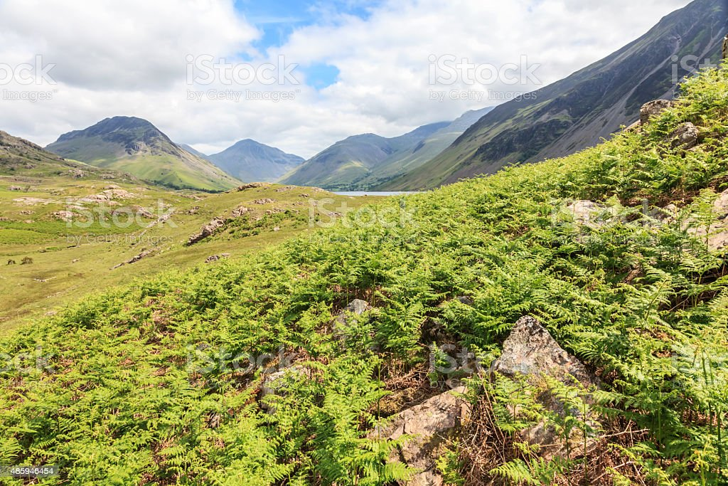 Wastwater - Wasdale Head, Lake District stock photo