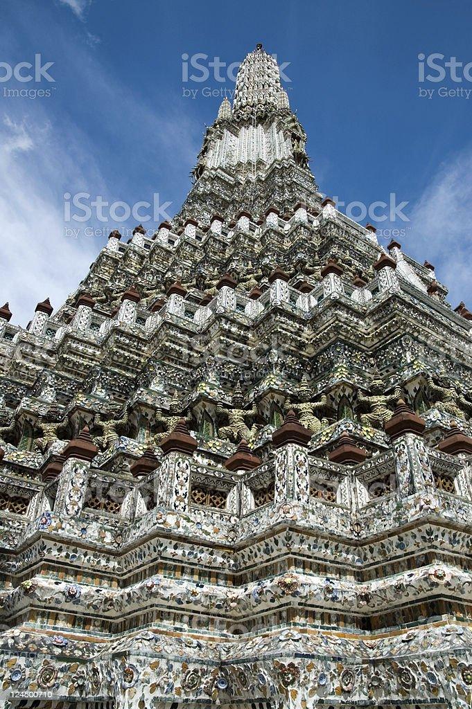 Wat Arun Bangkok Thailand royalty-free stock photo