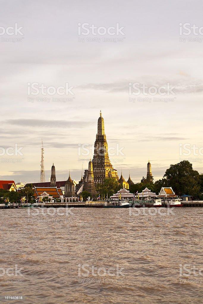 Wat Arun, Bangkok, Tajlandia zbiór zdjęć royalty-free