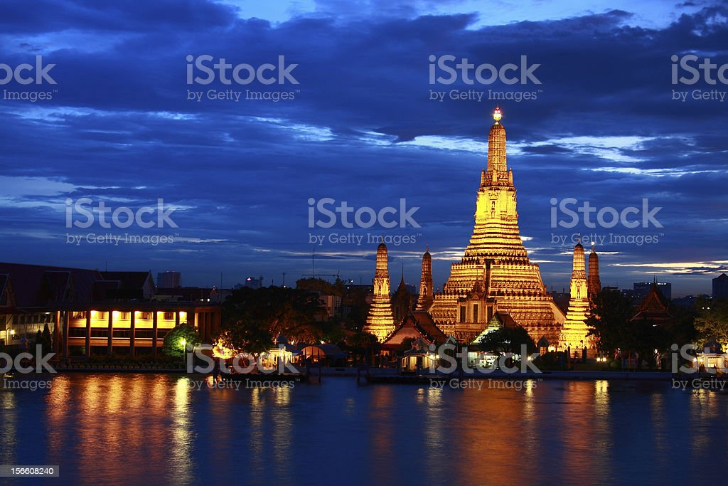 Wat Arun, bangkok ,thailand royalty-free stock photo