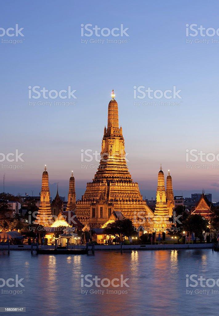 Wat Arun (Temple of Dawn), Bangkok, Thailand. royalty-free stock photo
