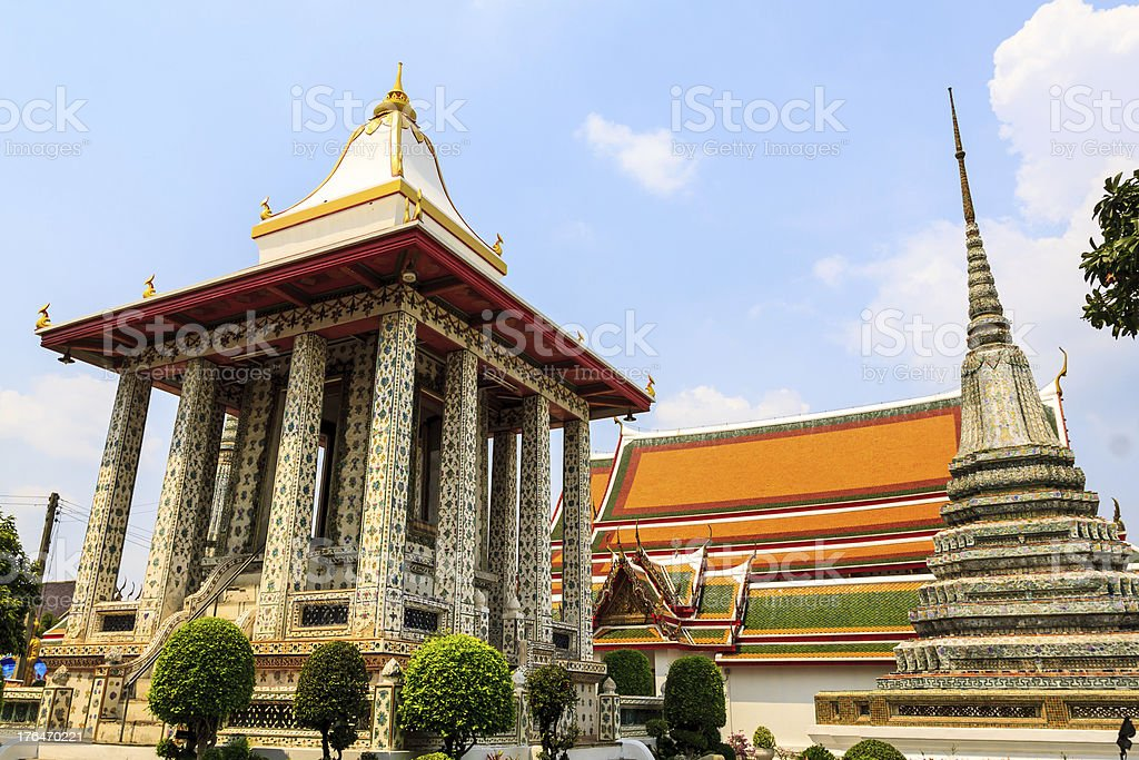 Wat Arun Bangkok, Thailand royalty-free stock photo