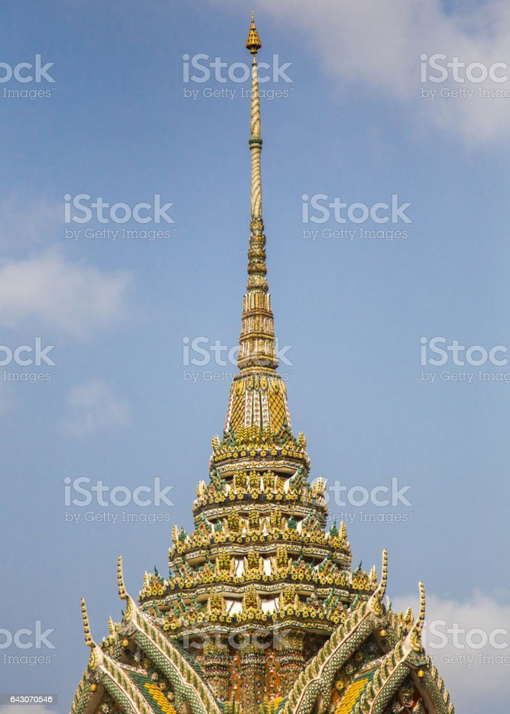 Wat Arun (Temple of Dawn) - Bangkok, Thailand stock photo