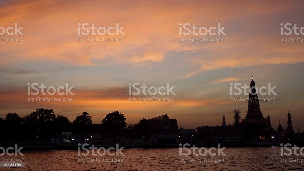 Wat Arun - Bangkok,Thailand stock photo