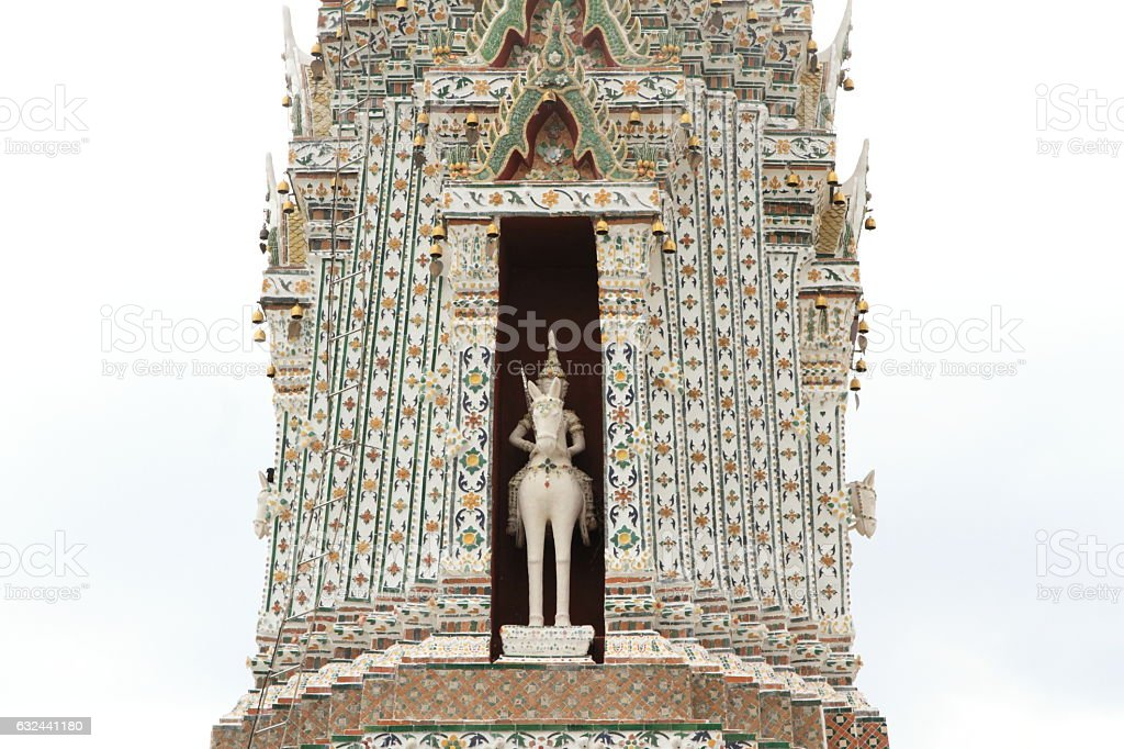 Wat Arun in Bangkok, Thailand stock photo