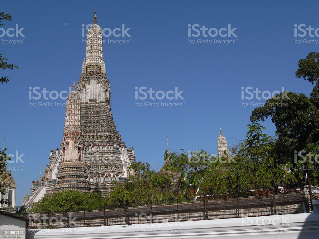 Wat Arun in Thailand stock photo