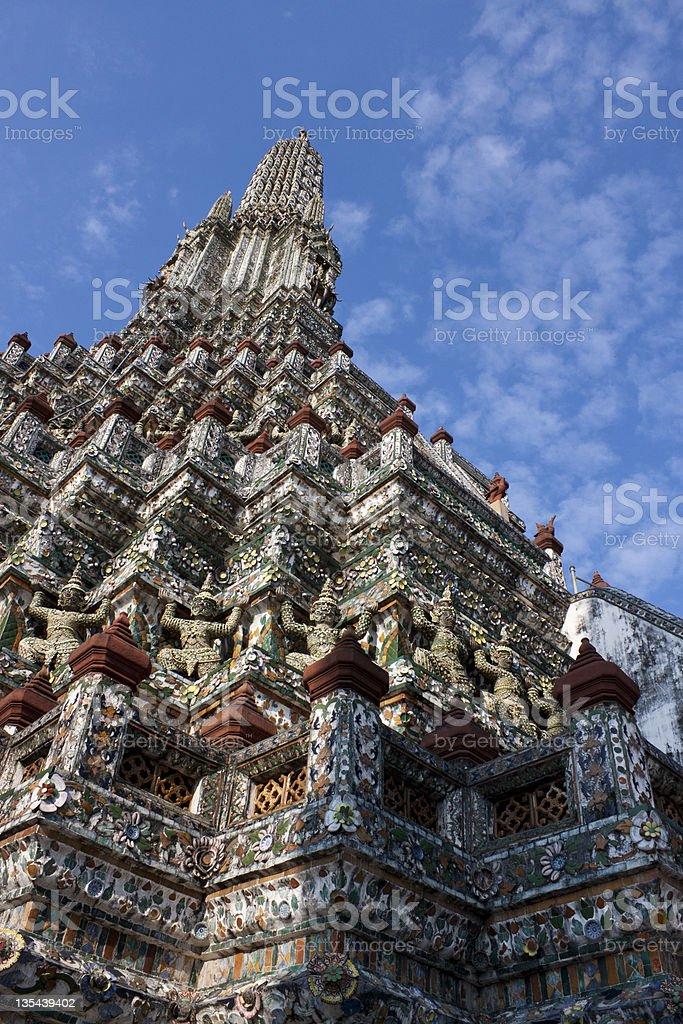 Wat Arun Rajwararam royalty-free stock photo