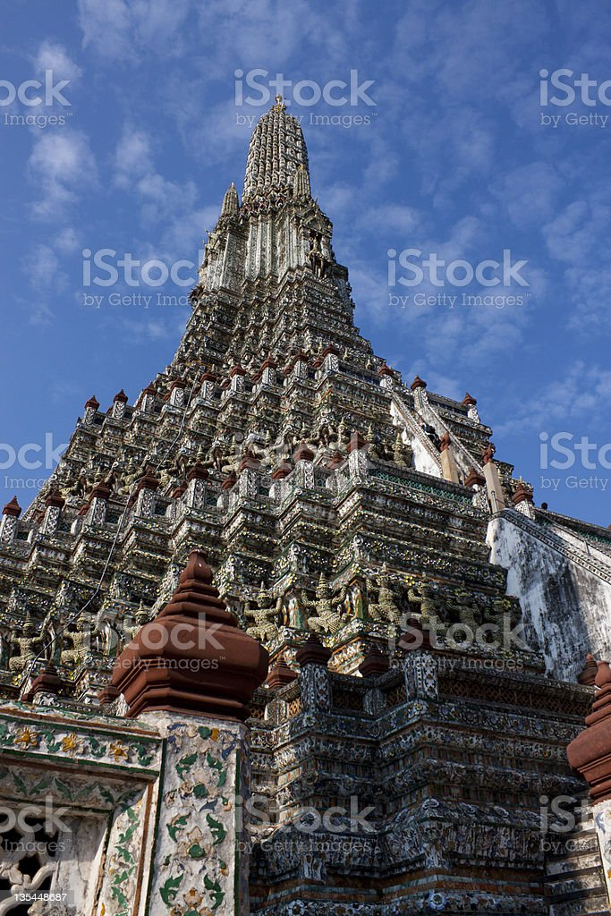 Wat Arun Rajwararam royalty-free stock photo