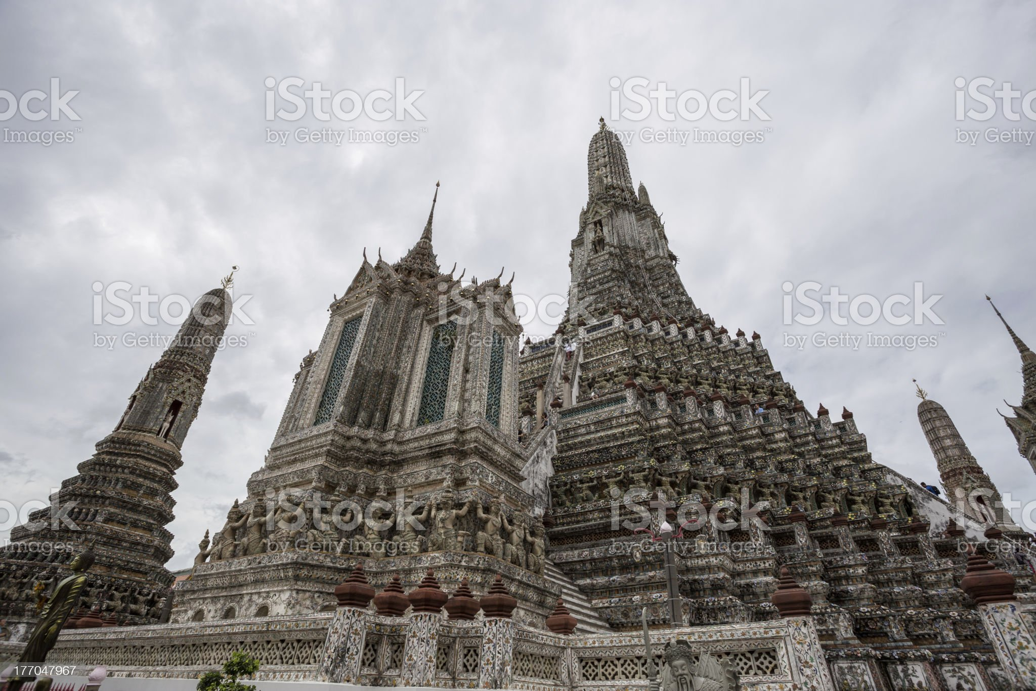 wat arun temple bangkok thailand royalty-free stock photo