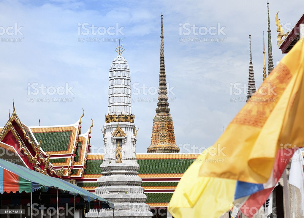 Wat Arun temple in Bangkok Thailand royalty-free stock photo
