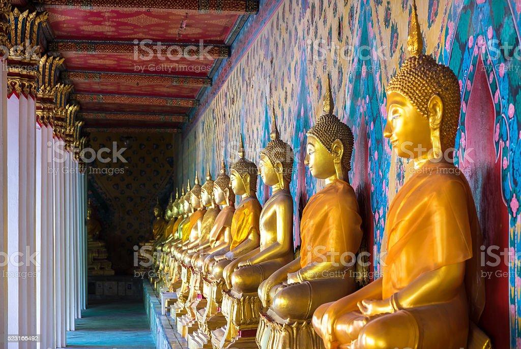 Wat Arun temple in Bangkok, Thailand stock photo