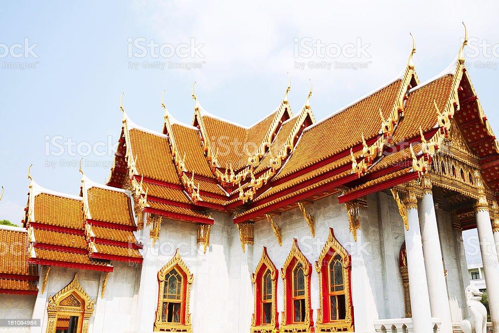 Wat Benchamabophit royalty-free stock photo
