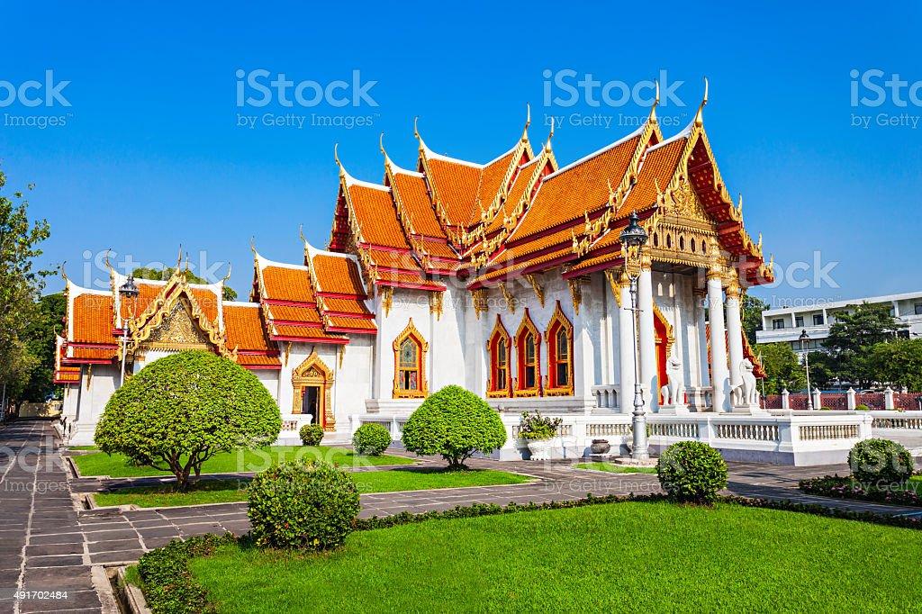 Wat Benchamabophit Temple stock photo