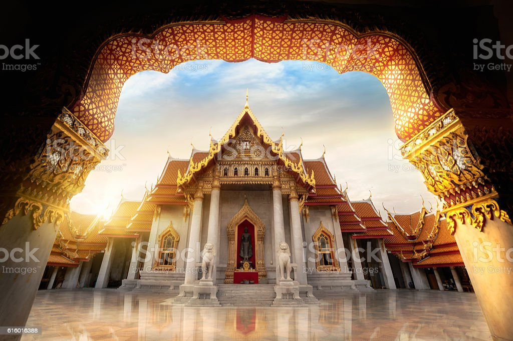 Wat Benchamabopitr stock photo