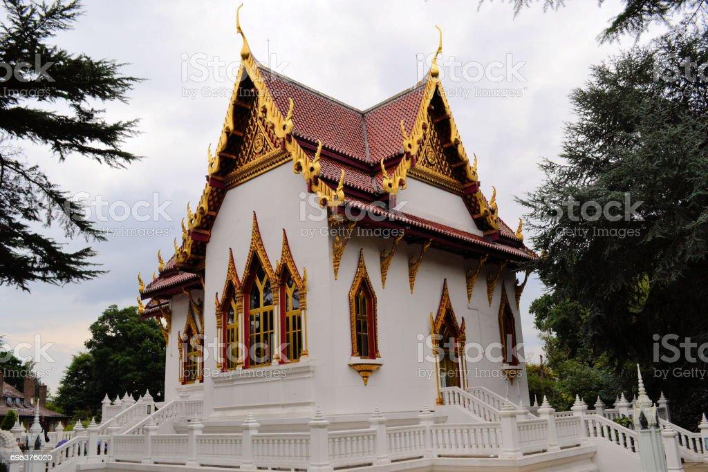 Wat Buddhapadipa stock photo