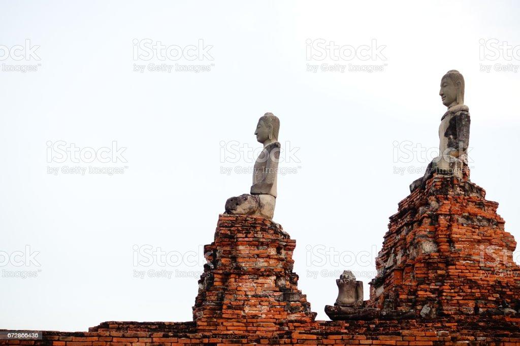Wat Chaiwatthanaram temple in Ayuthaya stock photo