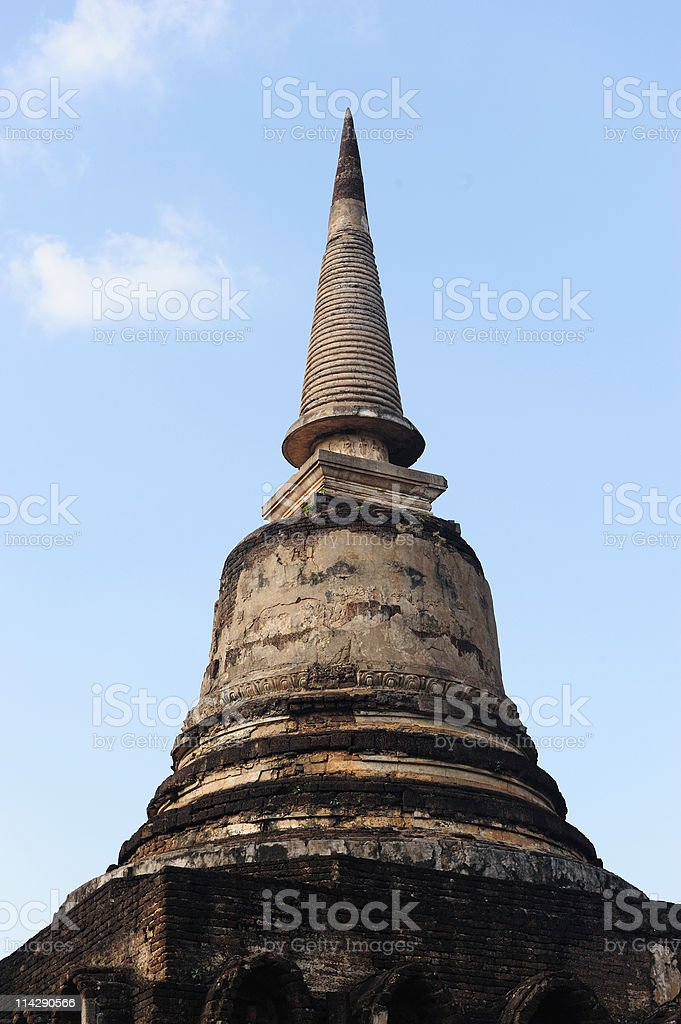 Wat Chang Lom, Si Satchanalai Historical Park, Thailand stock photo