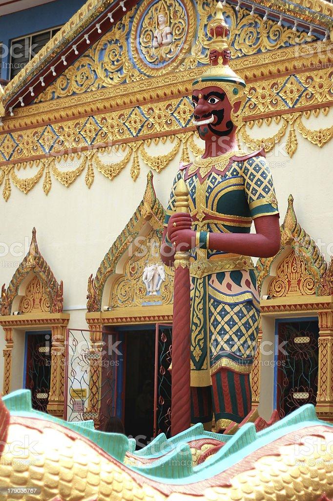 Wat Chayamangkalaram royalty-free stock photo