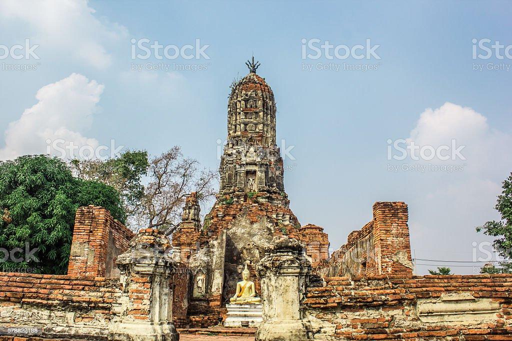 Wat Choeng Thar stock photo