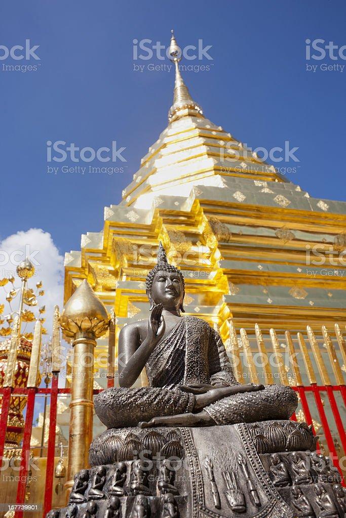 Wat Doi Suthep, Chiang Mai. royalty-free stock photo