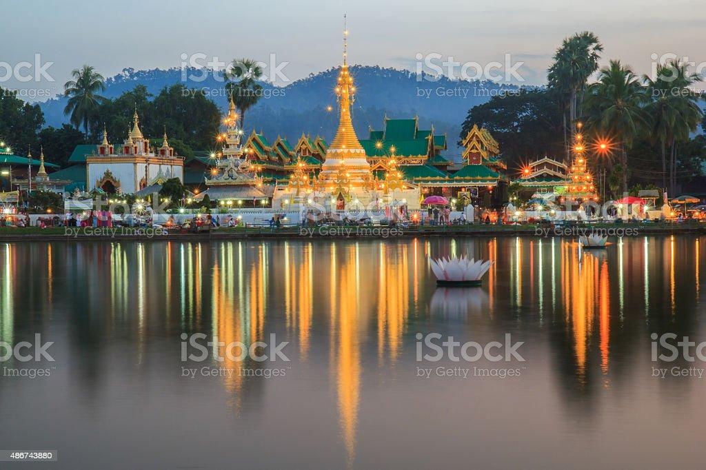 Wat Jong Klang stock photo