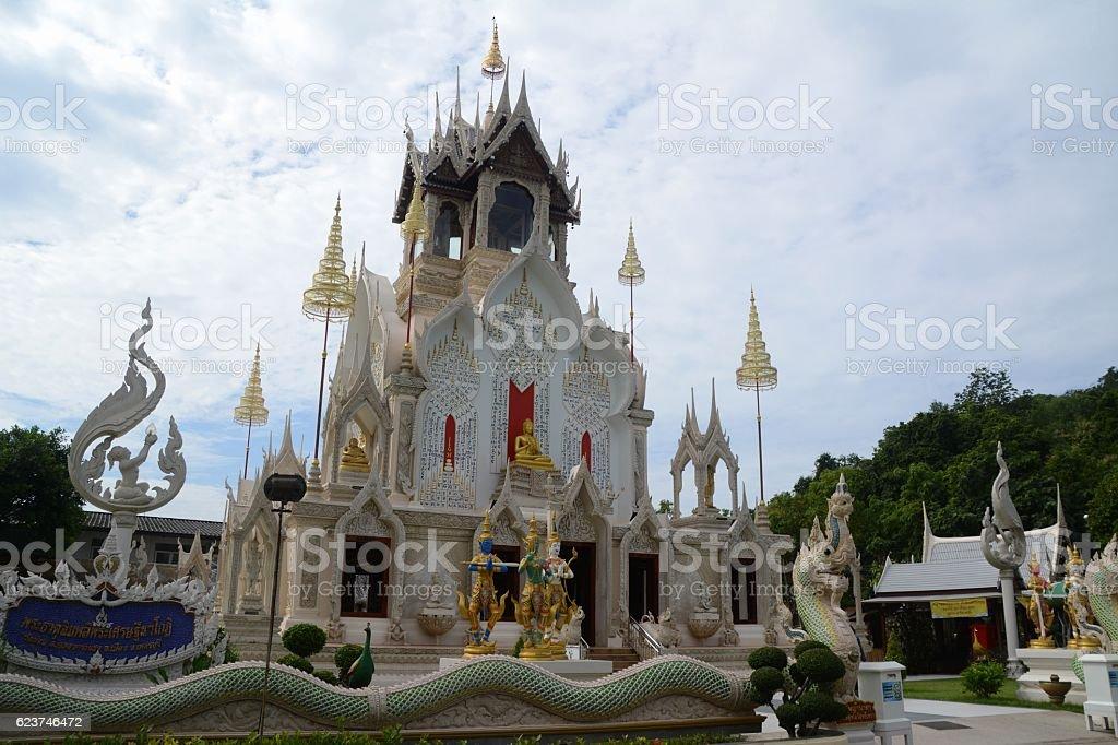 Wat Khoy temple in Phetchaburi, Thailand stock photo