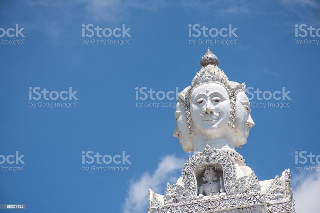 Wat Ming Muang, Nan province, Thailand stock photo