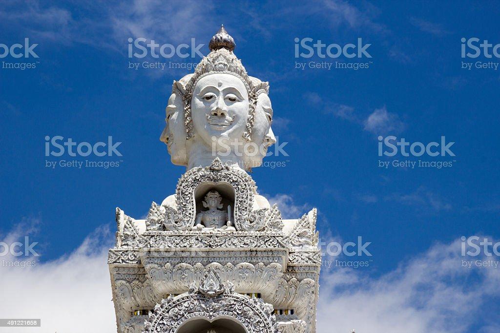 Wat Ming Mueang Nan stock photo