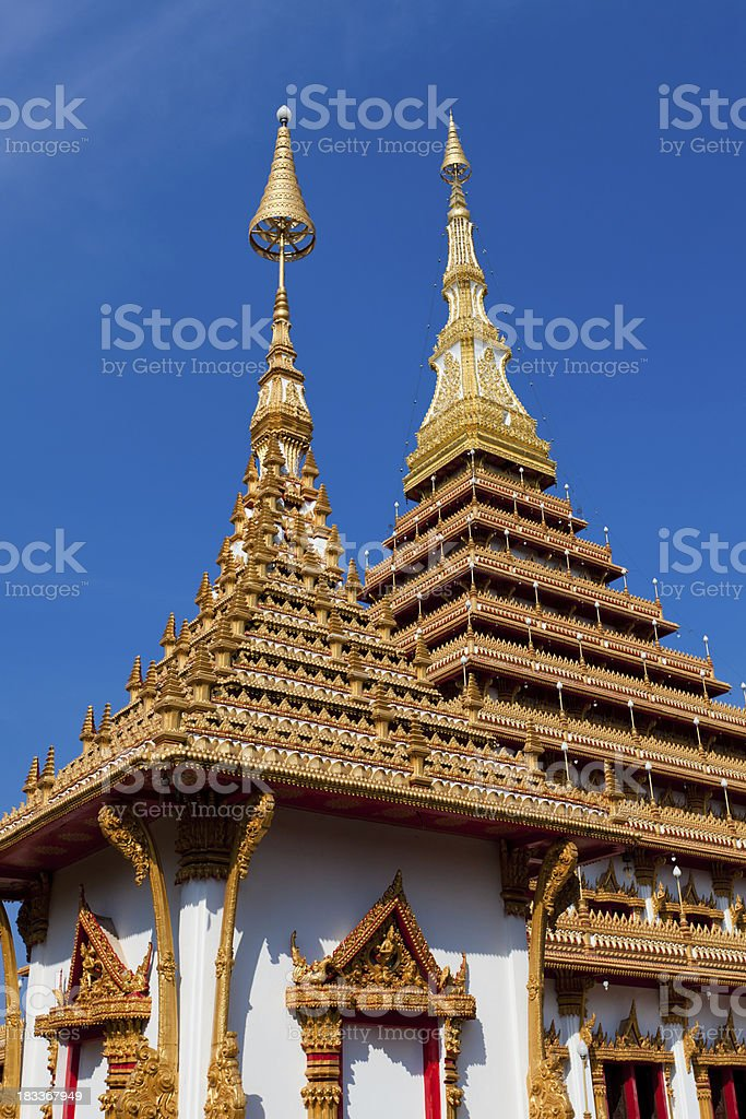 Wat Nongwang in Khon Kaen, Thailand stock photo