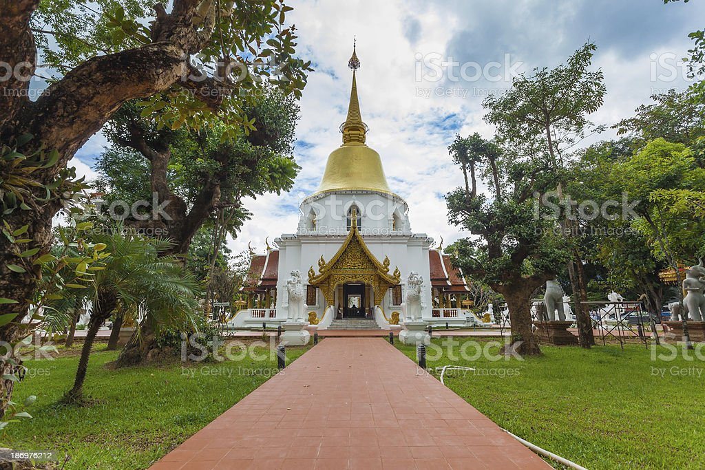 wat pha dara bhi rom Temple located in the western royalty-free stock photo