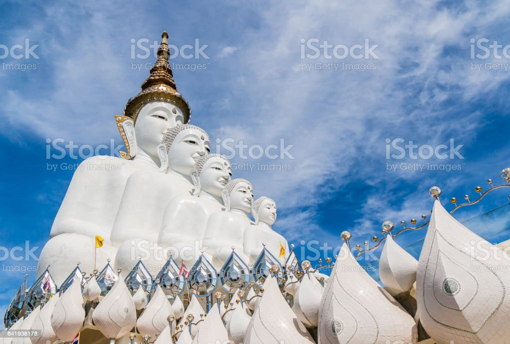Wat Pha Sorn Kaew also known as Wat Phra That Pha Kaew, is a Buddhist monastery and temple in Phetchabun, Thailand. They are public domain or treasure of Buddhism, no restrict in copy or use stock photo