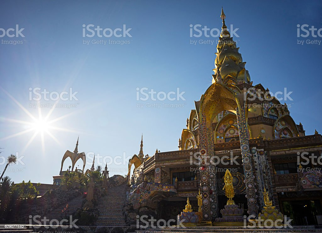 Wat Pha Sorn Kaew in Petchabun stock photo