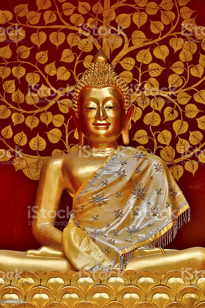 Wat Phan On Chiang Mai stock photo
